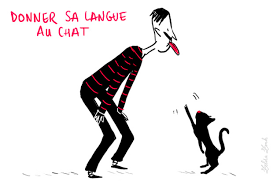 L'expression du mois : donner sa langue au chat